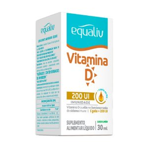 Vitamina D Equaliv 200UI - 30ml