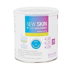New Skin + Ácido Hialurônico Divinitè - Sabor Limão - 330g