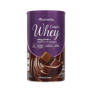 Complete Whey Chocolate Suiço Sanavita - 450g
