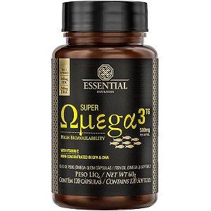 Super Ômega 3 Essential Nutrition 500mg - 120 Cápsulas