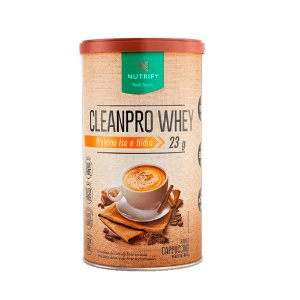 CleanPro Whey Nutrify - Capuccino - 450g