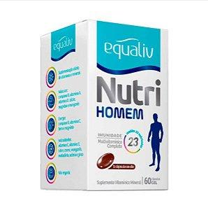 Equaliv Nutri Homem - 60 Cápsulas