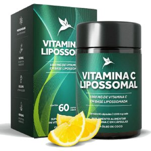 Vitamina C Lipossomal Pura Vida - 60 Cápsulas