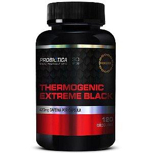 Thermogenic Extreme Black Probiótica - 120 Cápsulas
