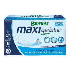 Absorvente Maxi Geriatric - 20 Unidades