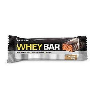 Whey Bar Probiótica - Amendoim - Unidade 40g