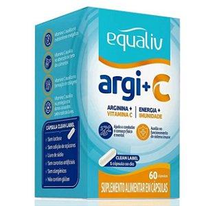 Equaliv Argi + Vita C - 60 Cápsulas