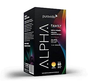 Alpha Family - 60 Cápsulas