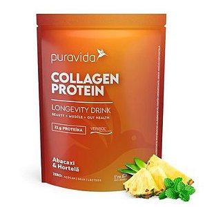 Collagen Protein - Abacaxi e Hortelã - 450g