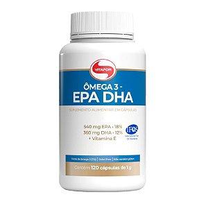 Ômega 3 EPA DHA Vitafor - 120 Cápsulas