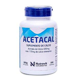 Acetacal - 200 Cápsulas