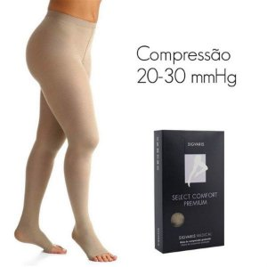 Meia Select Comfort Premium AT 20-30 mmHg