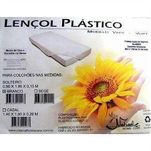 Lençol Plastico (Solteiro) 1,90m x 0,90m x 0,15m