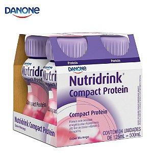 Nutridrink Compact Protein - 125ml pack com 4 unidades (Baunilha, Morango ou Cappuccino)