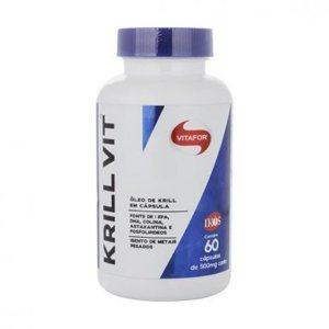 Krill Vit - 60 Capsulas