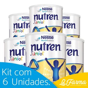 KIT 6 UNIDADES: NUTREN JUNIOR - 400G