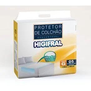 Lençol Protetor de Colchão Descartável - Tamanho Grande - Higifral
