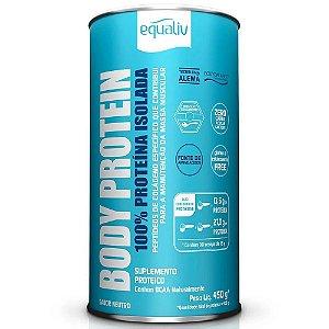 Equaliv Body Protein 100% Isolada Sabor Neutro 450g