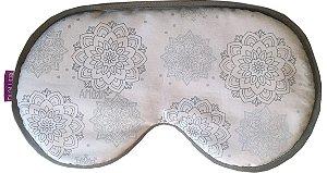 Máscara Térmica Linha Premium - Mandala Cinza