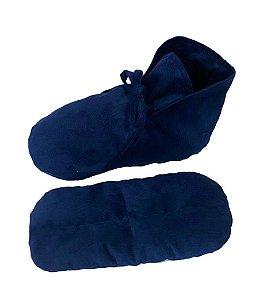 Pantufa Térmica - Azul Marinho