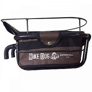 Cadeirinha Cestinha Altmayer Al59ma Bike Dog Para Bicicleta Marrom