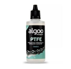 Lubrificante Corrente Bike MTB Algoo Úmido Ptfe 60ml Alta Performance