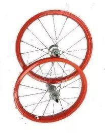 Roda Aluminio Aro 16 Para Bicicleta Infantil O Par