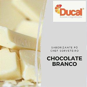 SABORIZANTE PÓ CHEF SORVETEIRO DUCAL AROMA CHOCOLATE BRANCO