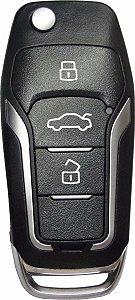 Chave canivete completa para veículo modelo honda civic 2012 até 2013