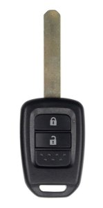 Chave telecomando completa para veículo modelo honda fit 2015 até 2018