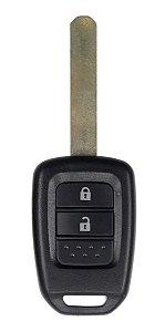 Chave telecomando completa original para veículo modelo honda fit 2019