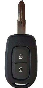Chave telecomando completa para veículo modelo renault logan 2020