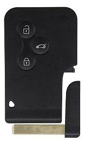Chave cartão completa para veículo modelo renault master 2007 até 2013