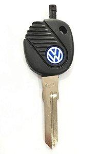 Chave simples codificada para veículo modelo vw saveiro 2000 até 2008
