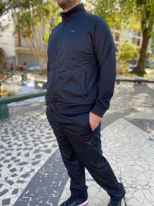 Agasalho Mizuno Kori Masculino Preto 4140736