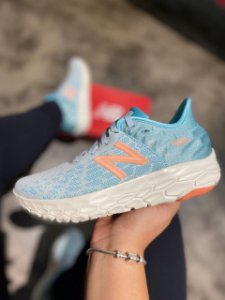 Tênis New Balance Fresh Foam Beacon v2 Feminino Azul - WBECNWP2