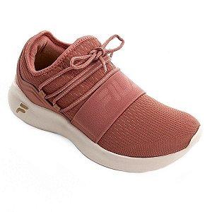 Tênis Fila Trend Feminino Rosa e Branco 829826