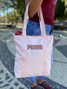 Bolsa Puma Core Base Shopper Feminina - Rosa Claro