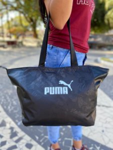 Bolsa Puma Core Up Large Shopper Preto