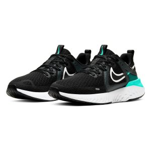TÊNIS NIKE LEGEND REACT 2 BLACK/PLATINUM TINT-HYPER TURQUESA AT1369-010
