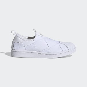 Tênis Adidas Superstar Slip On Branco