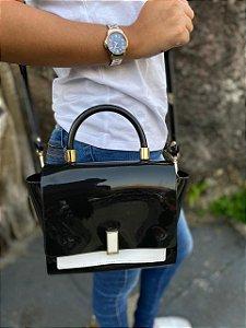 Bolsa Petite Jolie Match Preto/Branco PJ5266