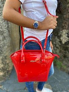 Bolsa Petite Jolie Shape Vermelha PJ3939