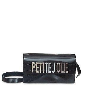 Bolsa Petite Jolie Long Wallet Preto/Metalizado PJ5401