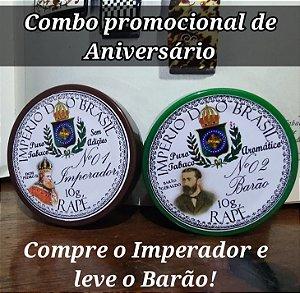 Combo promocional Aniversário-Imperador Nº1 e Barão Nº2