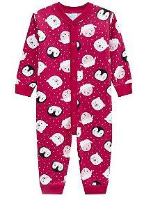 Kyly Pijama Infantil Feminino Manga Longa 207.233 Cor Vermelho