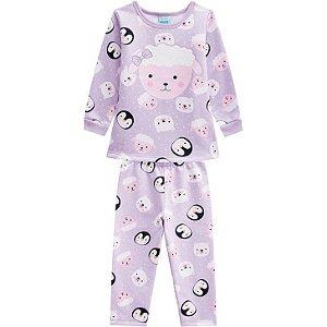 Kyly Pijama Inf Fem Ml 207.231 Cor Lilas