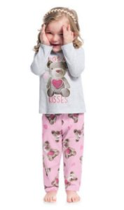 Kyly Pijama Inf Fem Ml 207.230 Cor Mescla