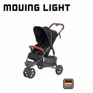 ABC Designer Carrinho De Bebe Moving Light 3115581 Cor Woven Black (Preto)