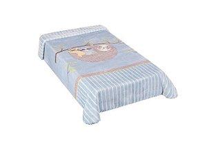 Colibri Cobertor Bebê 48554 Cor Azul